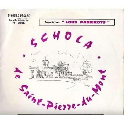 Schola de Saint Pierre du Mont Extraits du concert choral du 2 avril 1966 en l'église de St Pierre du Mont