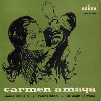 Carmen Amaya Maria de la O - Mi mare la tana - Fandangos