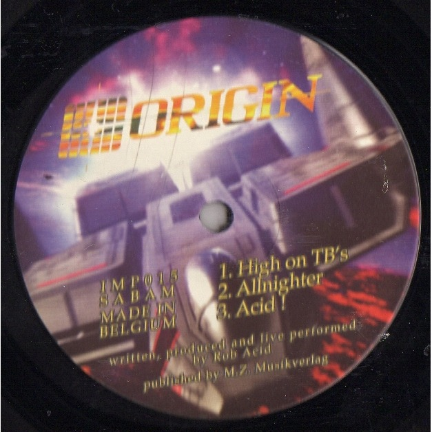 Rob Acid Important records 15