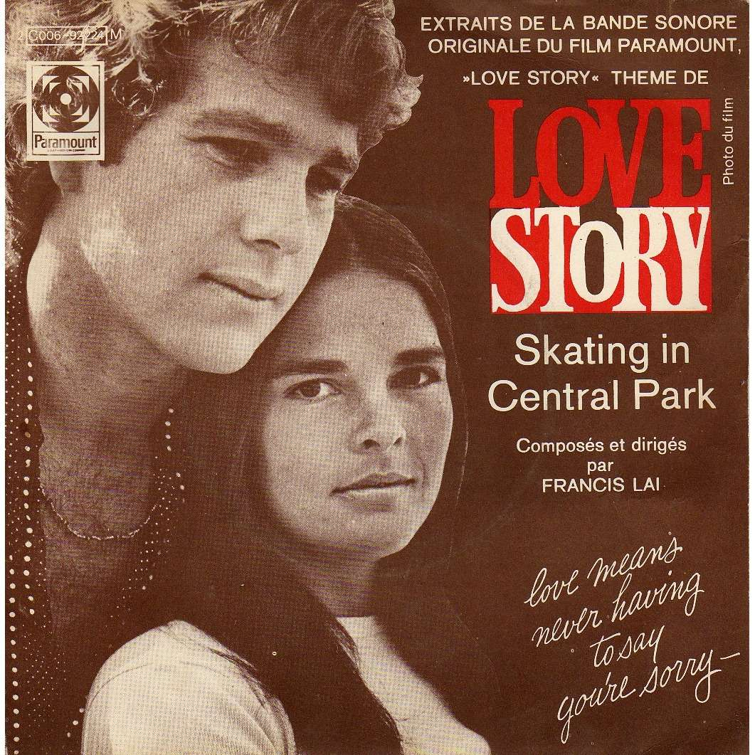 b o du film love story de francis lai sp chez disclo ref 114789612. Black Bedroom Furniture Sets. Home Design Ideas