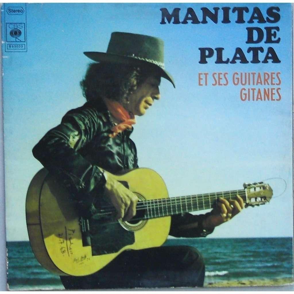 manitas de plata et ses guitares gitanes Campanitas
