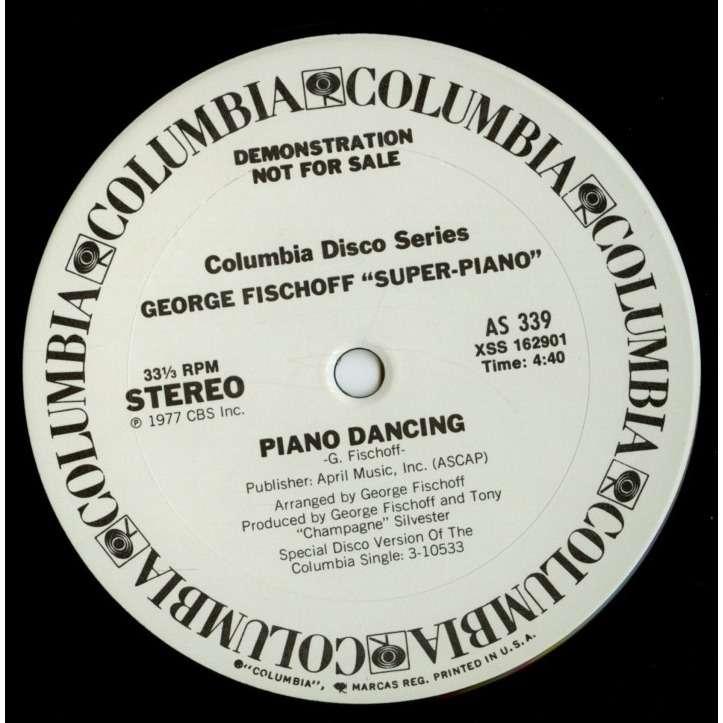 George Fischoff Piano Dancing