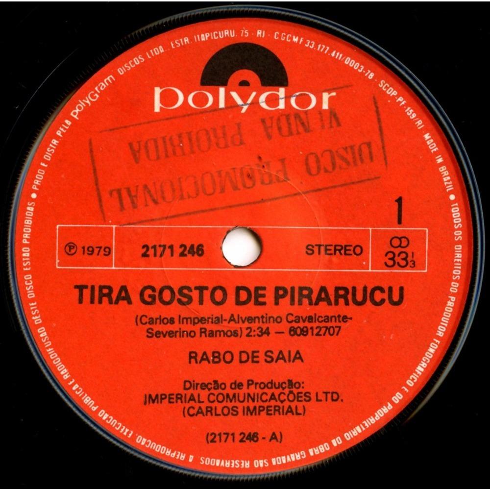 Rabo De Saia Tira Gosto De Pirarucu / Ripa Na Xulipa