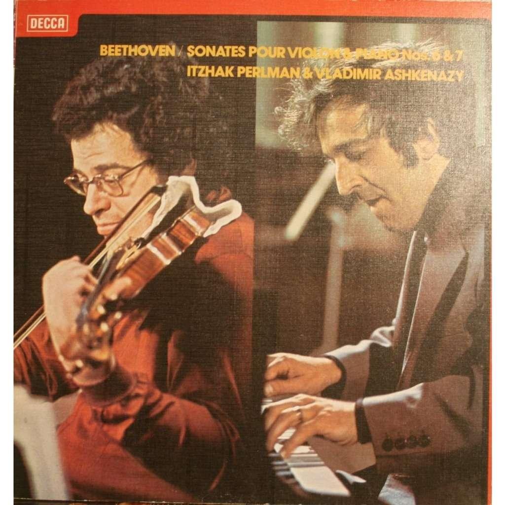 Vladimir Ashkenazy Itzhak Perlman Beethoven Sonatas For