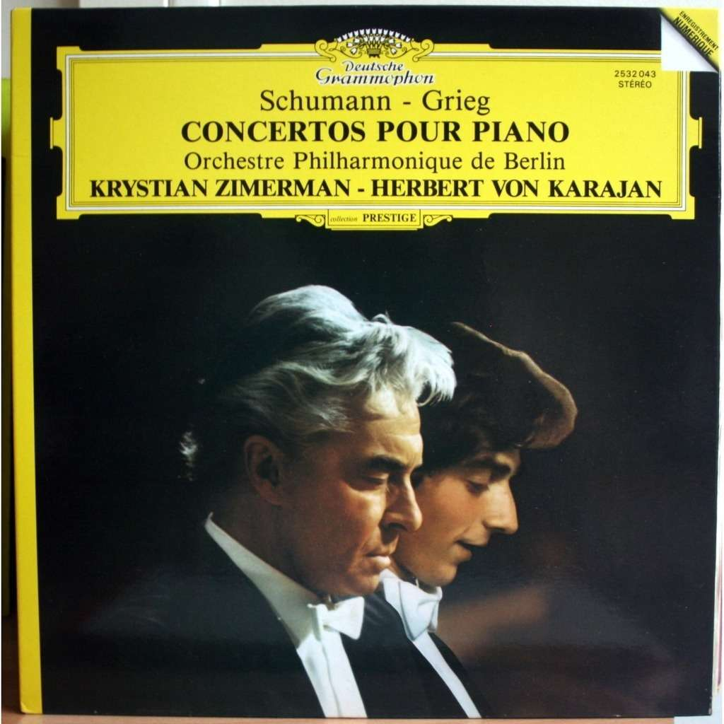 Piano Concertos Schumann Amp Grieg Digital By Krystian