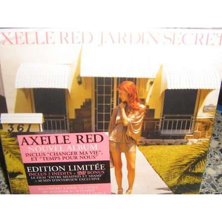 jardin secret edition limit e de axelle red cd x 2 chez
