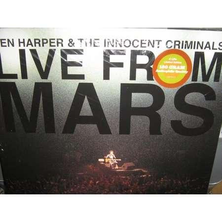 ben harper and the innocent criminals live from mars ( édition limitée )