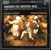 CLEMENCIC CONSORT / ENSEMBLE RICERCARE danse du moyen-âge