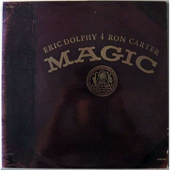 Magic By Eric Dolphy Ron Carter Lp X 2 With Fast54