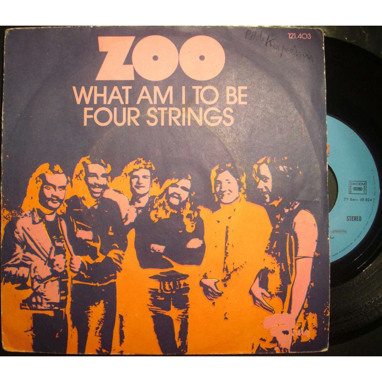 zoo what am i to be / four strings