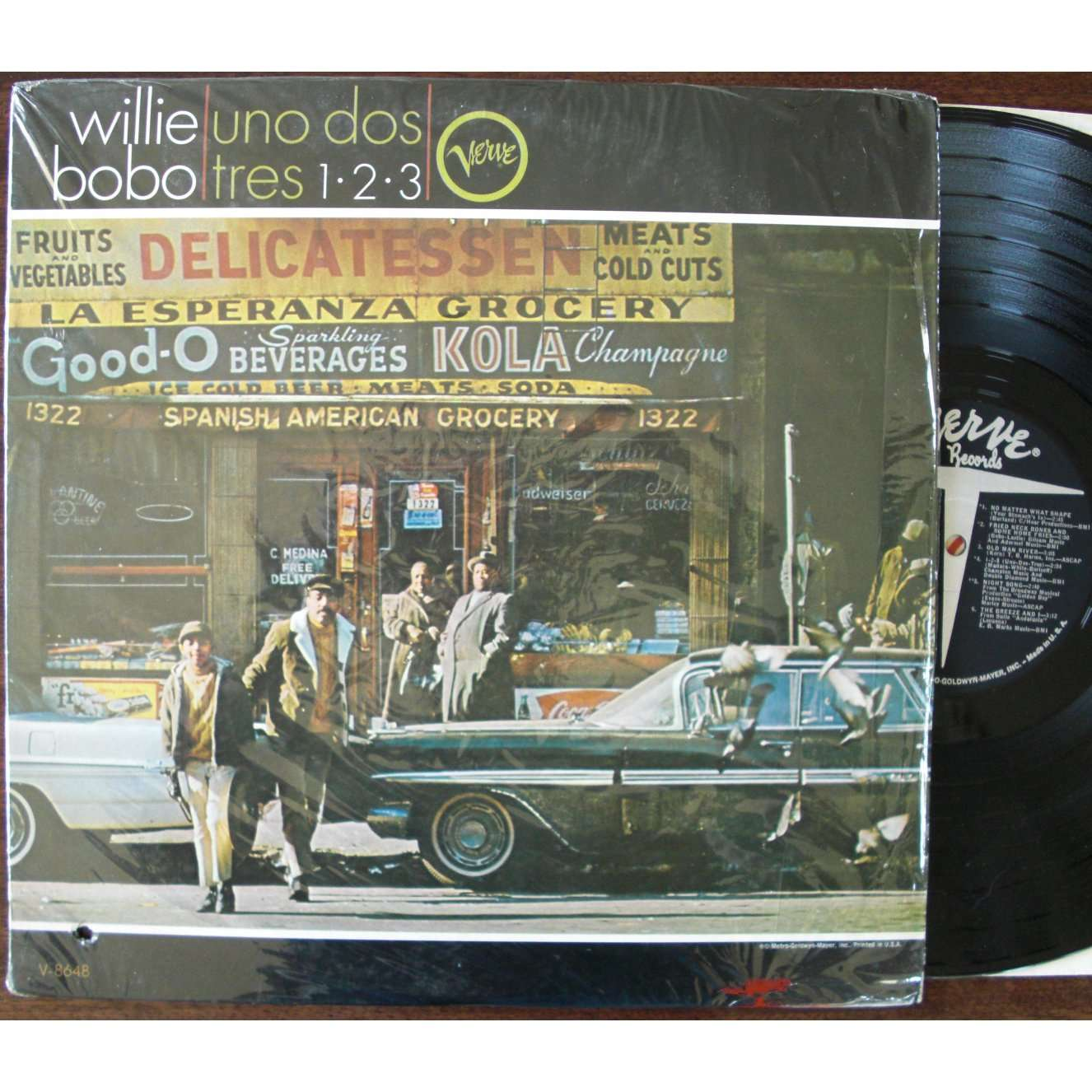 Uno Dos Tres 1 2 3 By Willie Bobo Lp With Flaming Ref