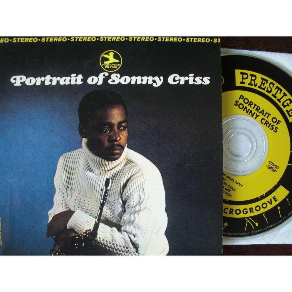 Sonny Criss Portrait of Sonny Criss (japanese papersleeve)