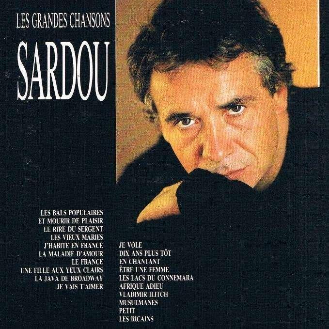 michel sardou les grandes chansons edition canada