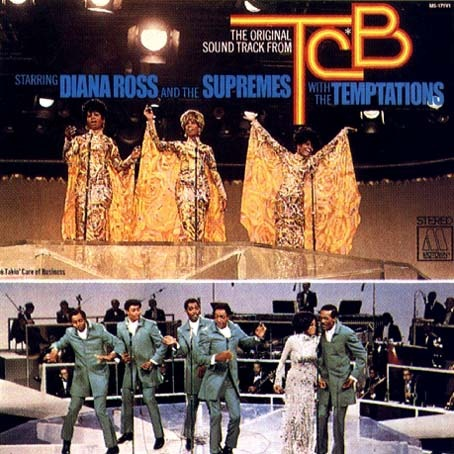 Diana Ross & The Supremes with the tempt TCB Original Soundtrack
