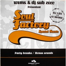 Wems & DJ Sub Zero Soul Factory Special Guests