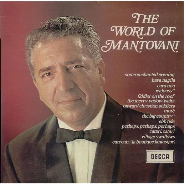 The World Of Mantovani By Mantovani And His Orchestra Lp