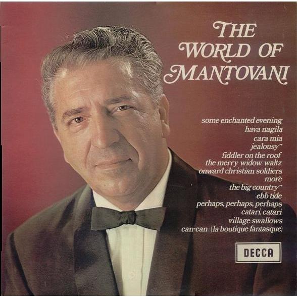 Mantovani And His Orchestra The World Of Mantovani Lp