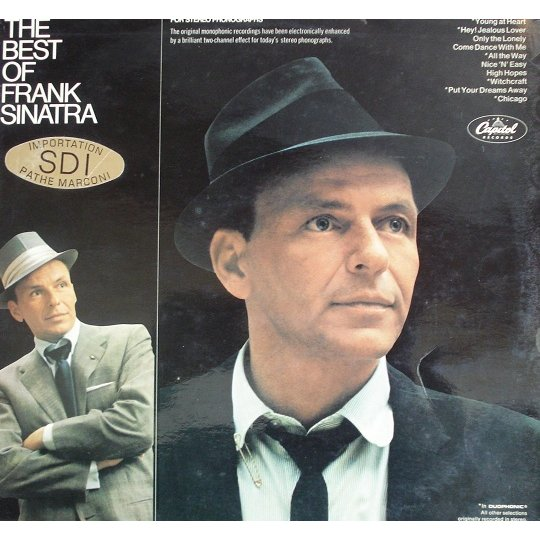 The Best Of Frank Sinatra By Frank Sinatra Lp With French