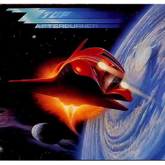 Afterburner By Zz Top Lp With French Connection Records