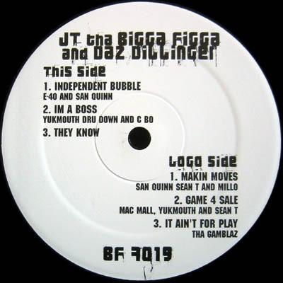 JT The Bigga Figga & Daz Dillinger Game For Sale (Album Sampler)