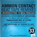 AMMON CONTACT - Beat tape remixes (6 titres) - 12 inch 33 rpm