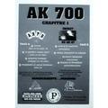 AK 700 CHAPITRE 1 - (ep 6 titres) 24 heures (chill out) / A notre époque / Toujours le même refrain / Mon x te martyr .. - LP