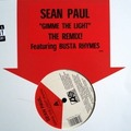 sean paul gimme the light (lp, instru, the remix ft busta rhymes dirty & clean)