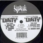 RAW STYLUS - Dirty - 12 inch 33 rpm