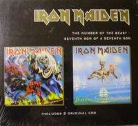Iron maiden The number of the beast/Sevent son of a seventh son (Bos)(2CD)(Only)(Australia)
