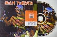 Iron Maiden Futureal (Limited édition)(1 track)(CD pic-disc)(Cardsleeve)(Promo)(UK)