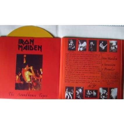 Iron maiden the soundhouse tapes(limited édition)(maxi 3 tracks)(yellow vinyl)(2009 reissue)(scotland)
