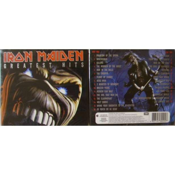 Iron maiden greatest hits(limited edition)(2cd)(slipcase carton)(russia).