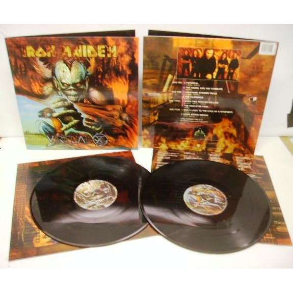 iron maiden virtual xi-(limited edition)(2lpl)&(getefold sleeve)(2011 re-issue)(not original)(germany)
