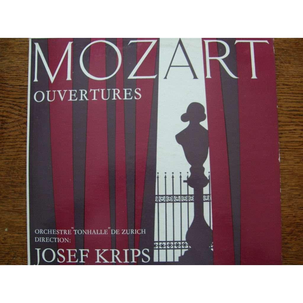 JOSEF KRIPS-ORCHESTRE TONHALLE ZURICH MOZART OUVERTURES