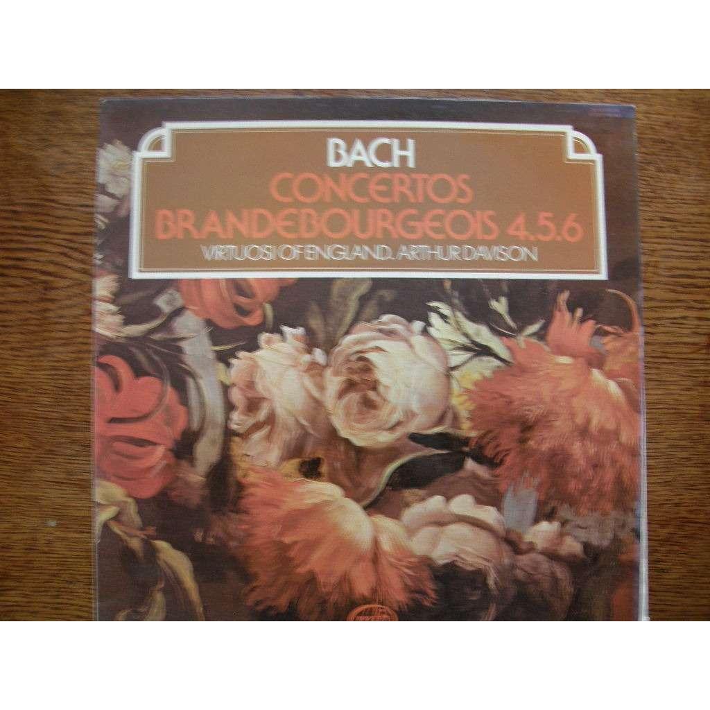 ARTHUR DAVISON - VIRTUOSI OF ENGLAND BACH - CONCERTOS BRANDEBOURGEOIS N°4.5.6