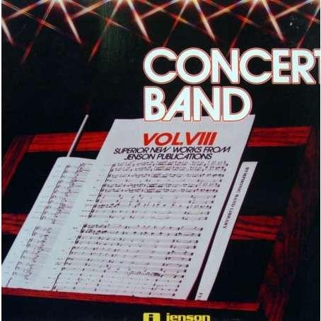 SUPERIOR NEW WORKS Concert band volume VIII (original USA press - Promo copy)