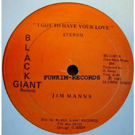 jim manns I Got To Have Your Love/Everybody Likes It