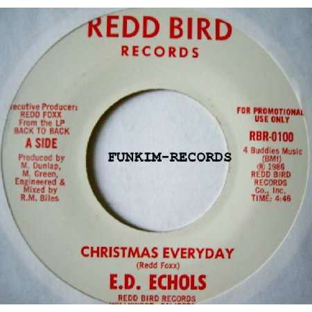E.D ECHOLS christmas everyday/last time
