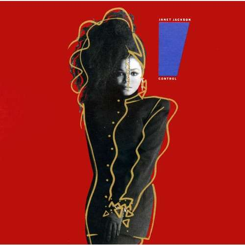 Control Janet Jackson Album Cover Janet jackson control