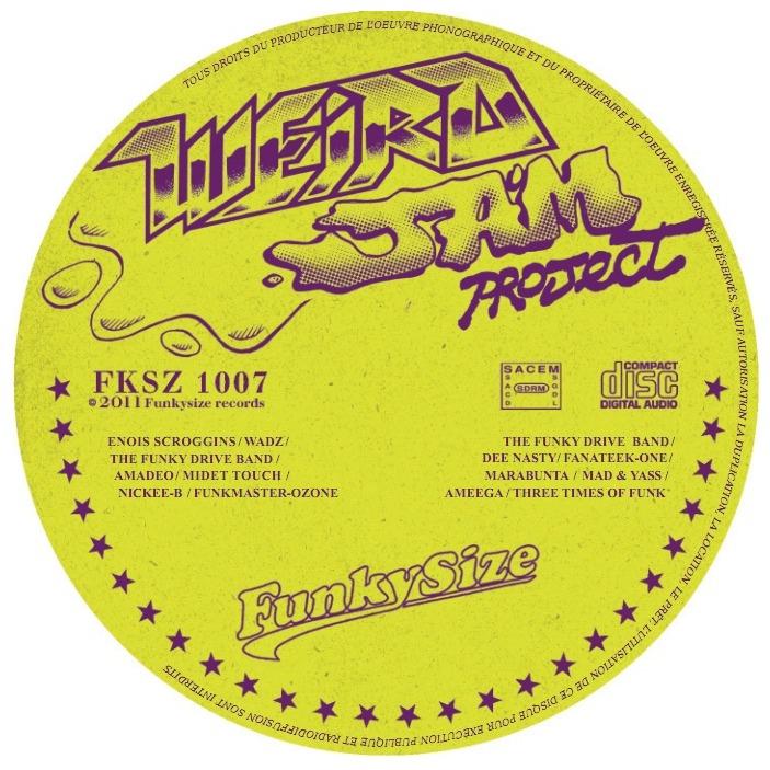 Weird Jam Project Funkysize 2011 Compilation Funk Enois Marabunta NickeeB Dee Nasty ...