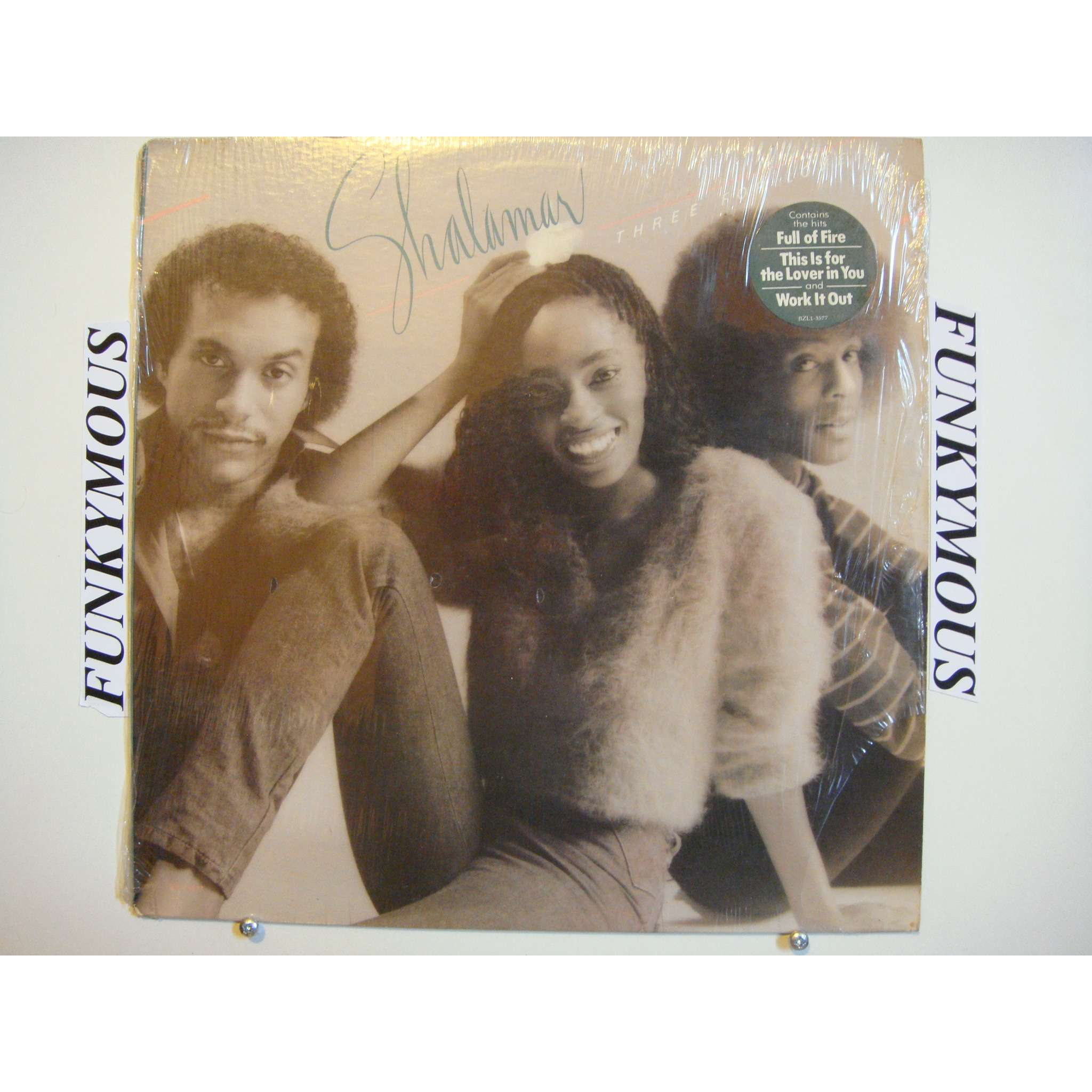 Three For Love By Shalamar Lp With Funkymous