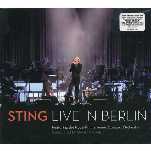 live in berlin cd dvd by sting cd x 2 with galarog ref 115135395. Black Bedroom Furniture Sets. Home Design Ideas