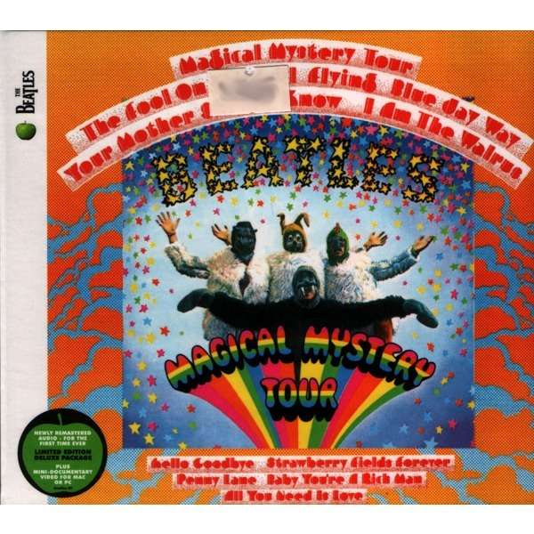 magical mystery tour by beatles cd with galarog ref 115141800. Black Bedroom Furniture Sets. Home Design Ideas
