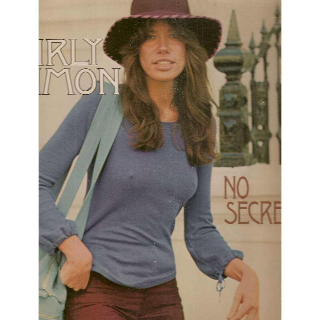 No Secrets By Carly Simon, LP With Galgano