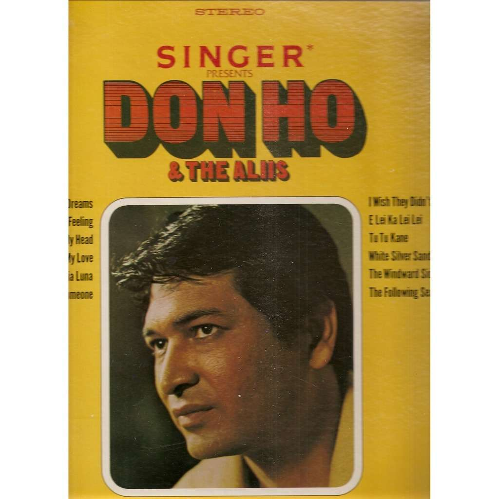 DON HO AND THE ALIIS SINGER PRESENTS