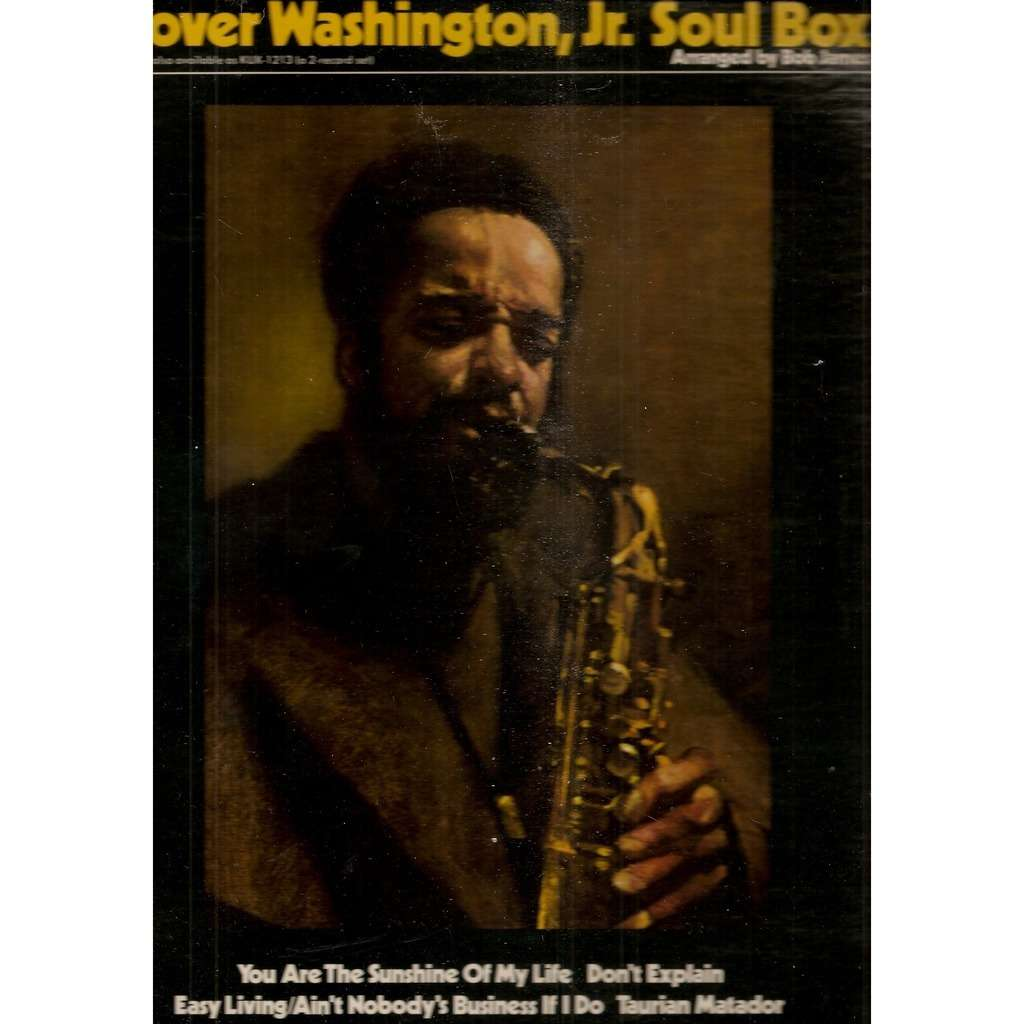 Grover Washington Jr Soul Box