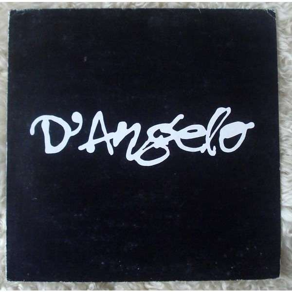 D'Angelo brown Sugar 4track LP Sampler ( Rare promo )