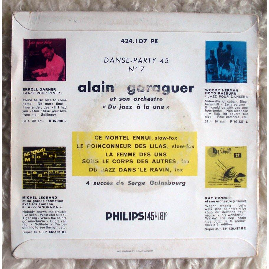 Alain Goraguer ( Serge gainsbourg ) Le poinçonneur des lilas + 3 ( Top rare instrumental versions of 4 Gainsbourg tracks )