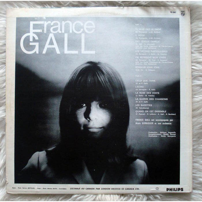 Fg - n°6 by France Gall, LP with GEMINICRICKET - Ref:114971638