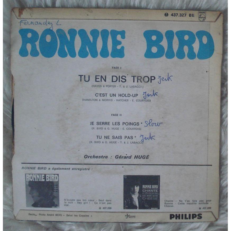 Ronnie Bird - Tu En Dis Trop